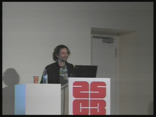 Tobias Engel at CCC 2008
